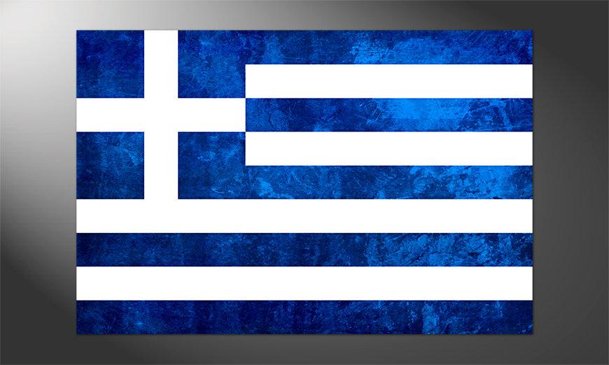 Das hochwertige Poster Griechenland