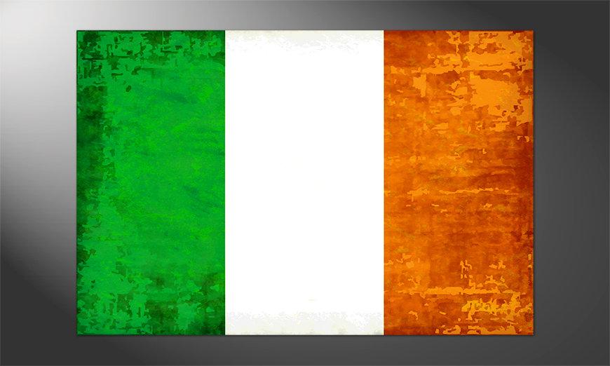 Das hochwertige Poster Irland