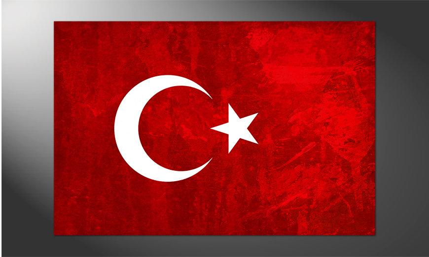 Das hochwertige Poster Türkei