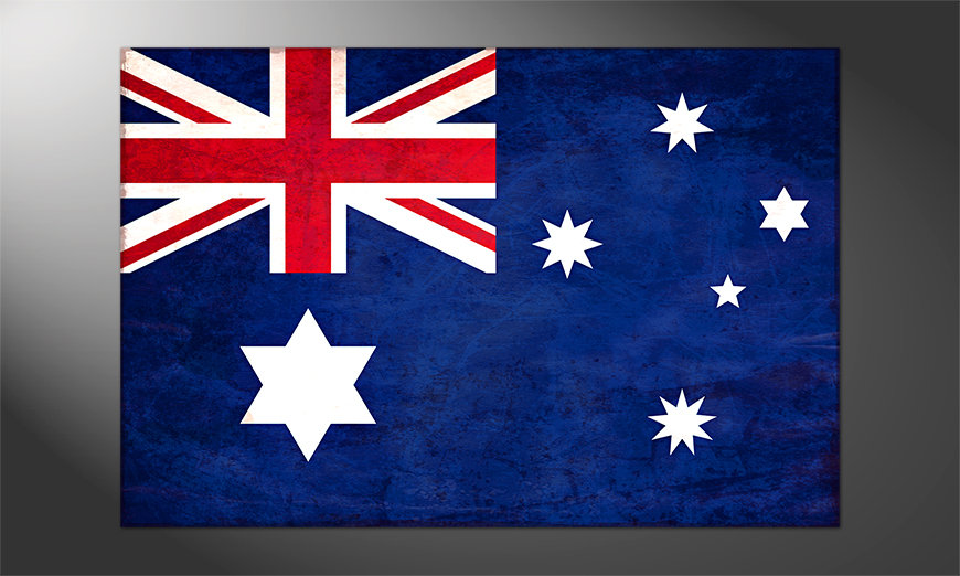 Das schöne Poster Australien