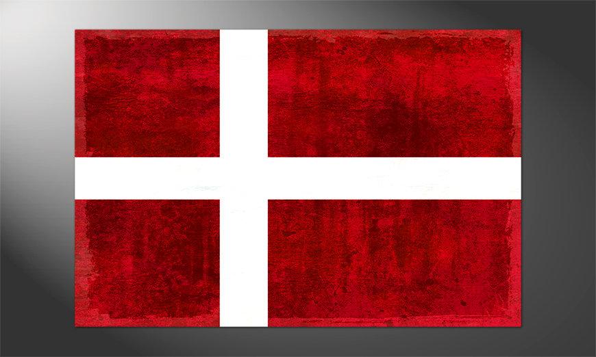 Das schöne Poster Dänemark