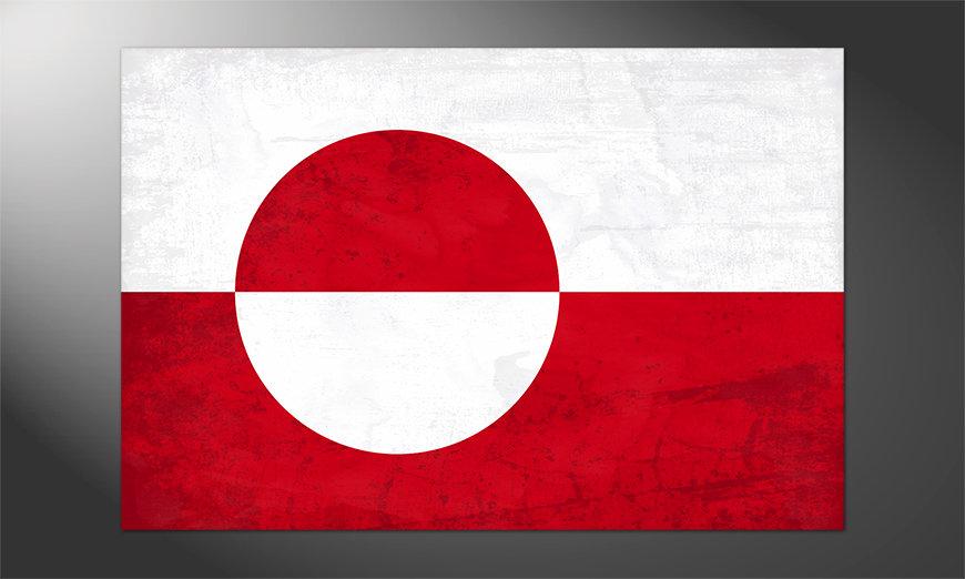 Das schöne Poster Grönland