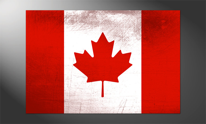Das schöne Poster Kanada