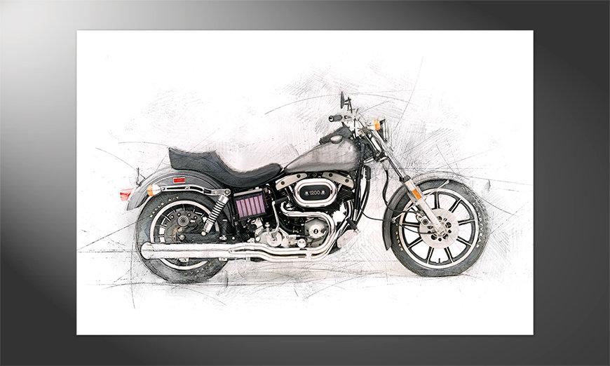 Das schöne Poster Motorcycle
