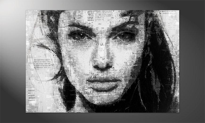 Das schöne Premium Poster Angelina