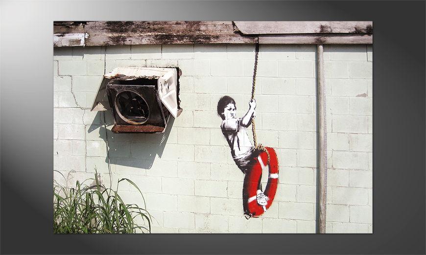 Das schöne Premium Poster Banksy No4