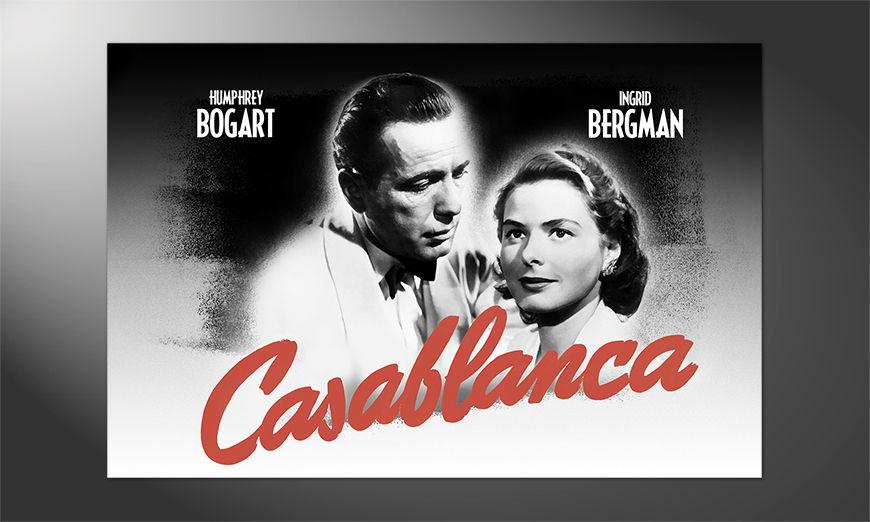 Das schöne Premium Poster Casablanca