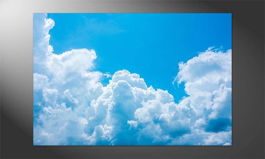 Das schöne Premium Poster Clouds
