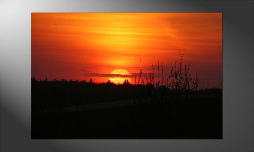Das schöne Premium Poster Sunset 2