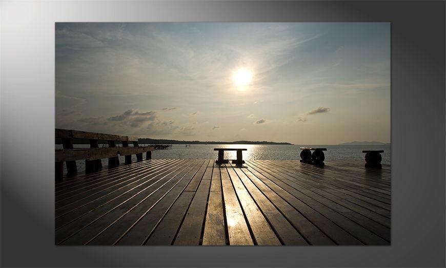 Das schöne Premium Poster Sunset 3