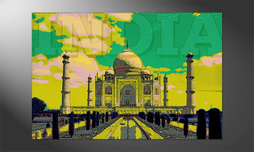 Das schöne Premium Poster Taj Mahal