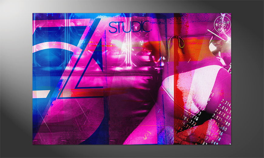 Das schicke Premium Poster Studio 54