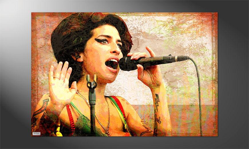 Das tolle Premium Poster Amy