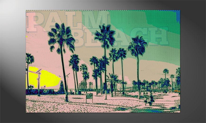 Das tolle Premium Poster Palm Beach