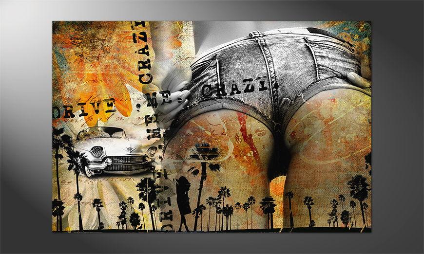 Sexy Premium Poster Drive me crazy
