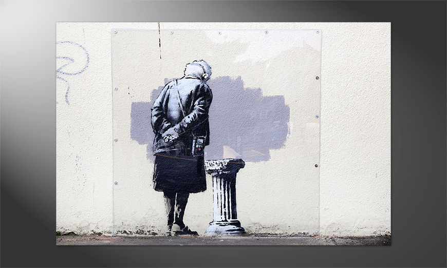 Streetart Premium Poster Banksy No2