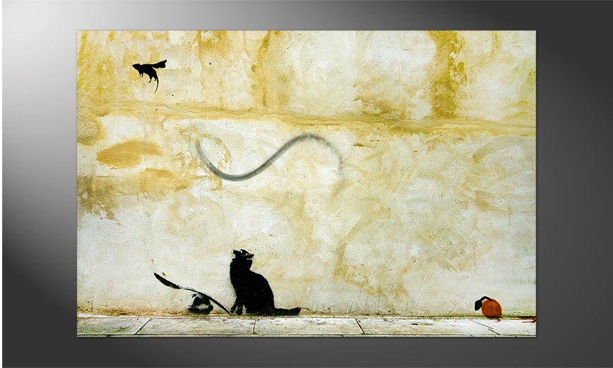 Streetart Premium Poster Banksy No8