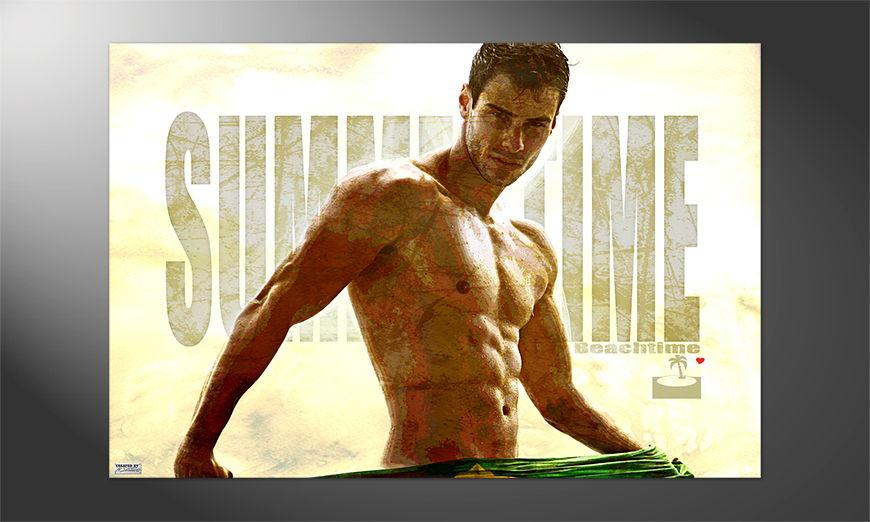 Streetart Premium Poster Summerboy