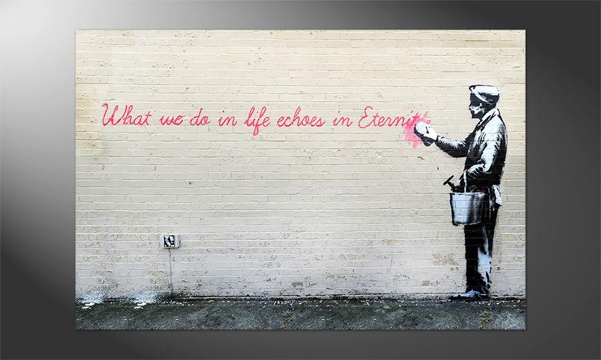 Unser Premium Poster Banksy No17