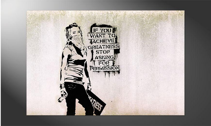 Unser Premium Poster Banksy No7