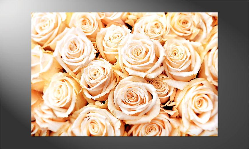 Unser Premium Poster Creamy Roses