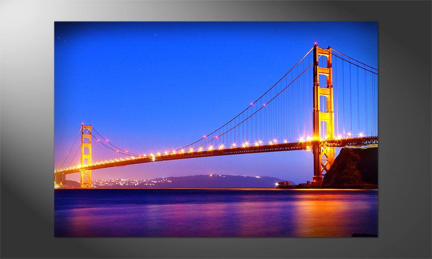 Unser Premium Poster Golden Gate