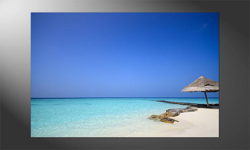 Unser Premium Poster Maldives Beach