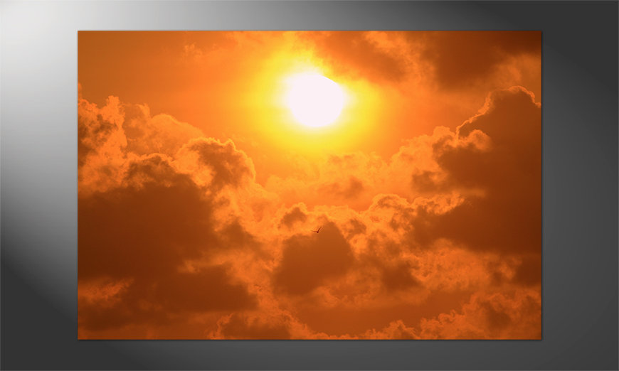 Unser Premium Poster Powerful Sundown