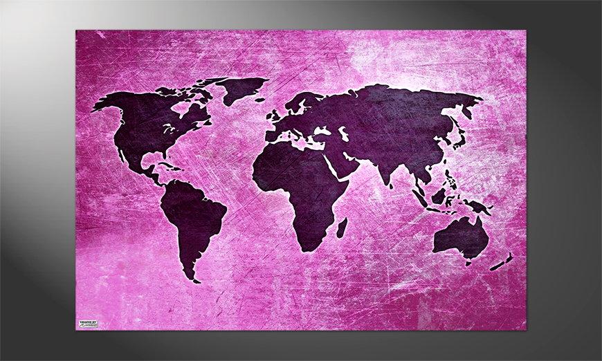 Unser Premium Poster Weltkarte Nr4
