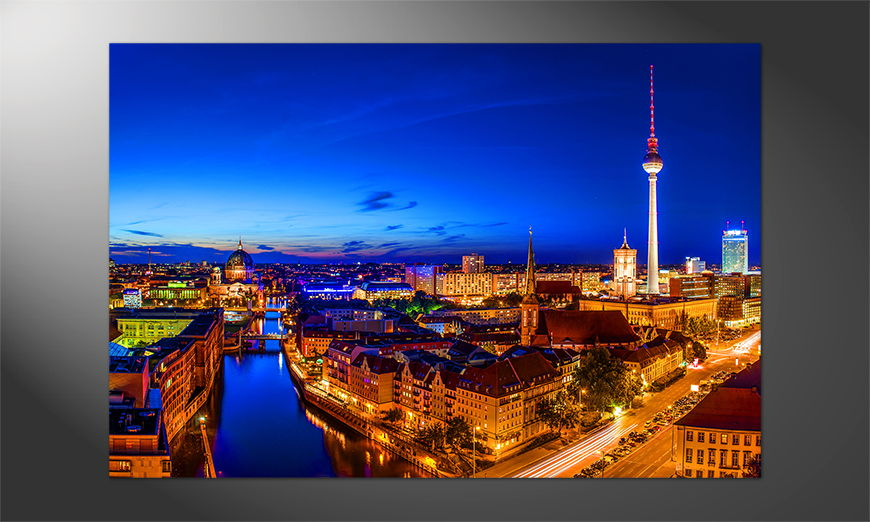 Unser schönes Premium Poster Berlin City