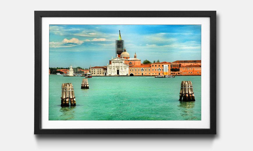 Bild gerahmt City Of Venice