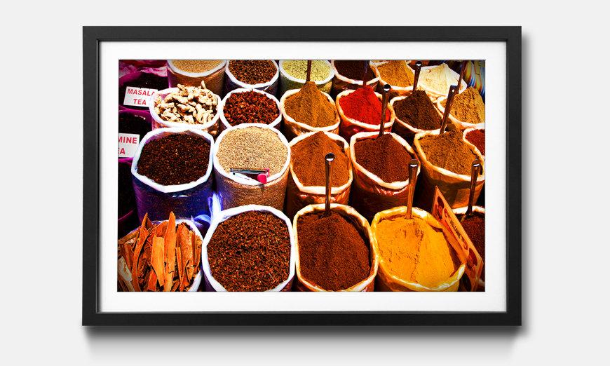 Bild gerahmt Colorful Spices