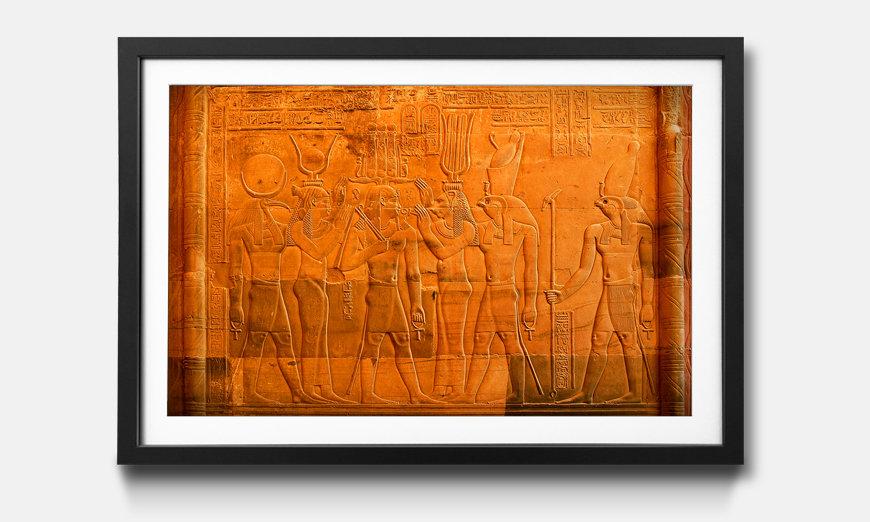 Bild gerahmt Egypt