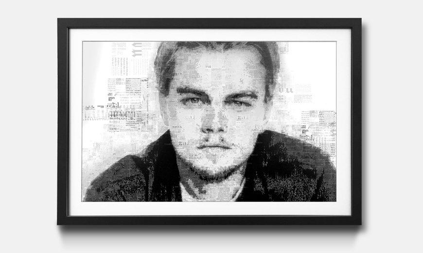 Bild gerahmt Leonardo