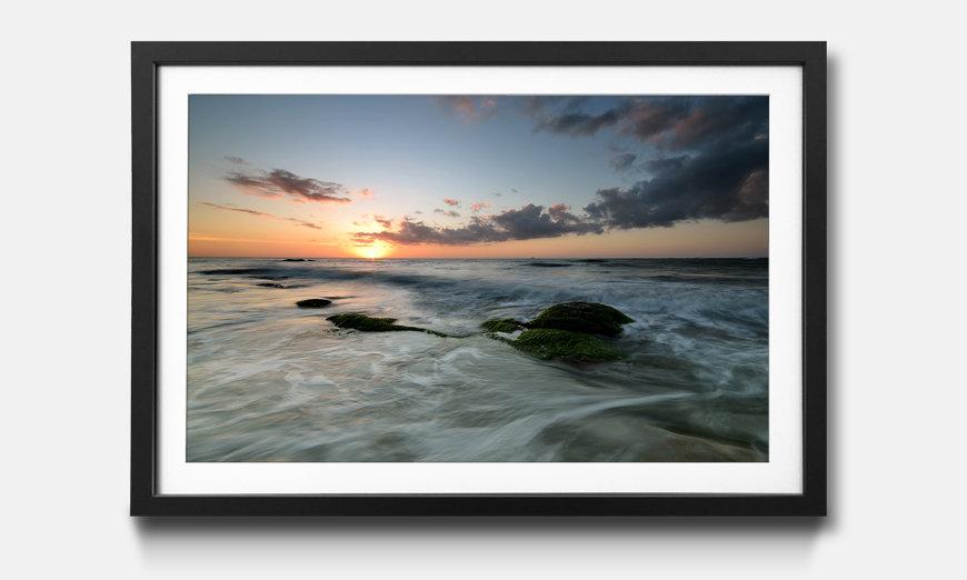 Bild gerahmt Ocean Sunset