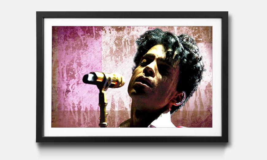 Bild gerahmt Prince