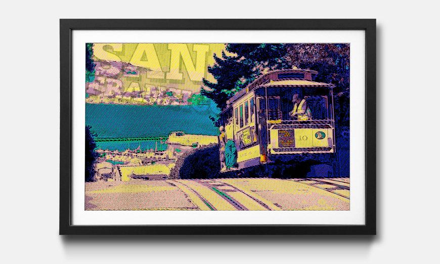 Bild gerahmt San Fransico