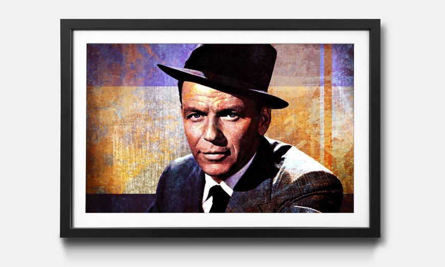 Bild gerahmt Sinatra