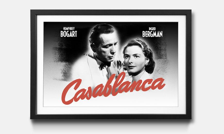 Das gerahmte Bild Casablanca