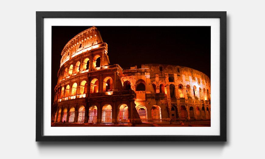 Das gerahmte Bild Colosseum