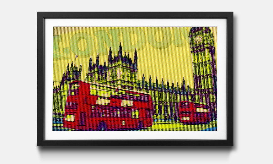 Das gerahmte Bild London