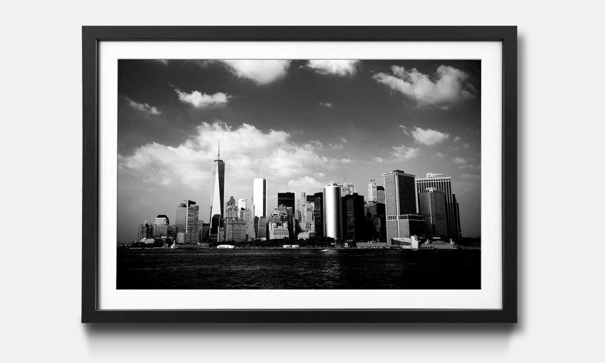 Das gerahmte Bild Manhattan Skyscrapers