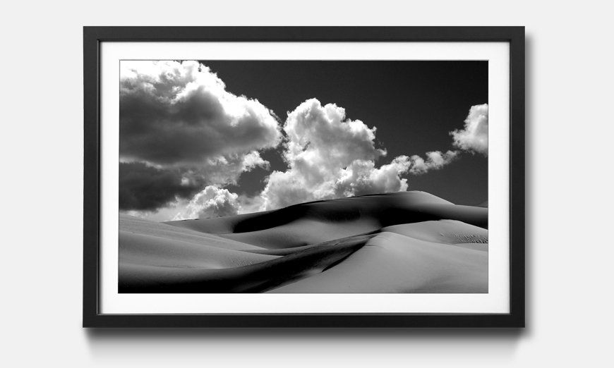 Das gerahmte Bild Sand Dunes