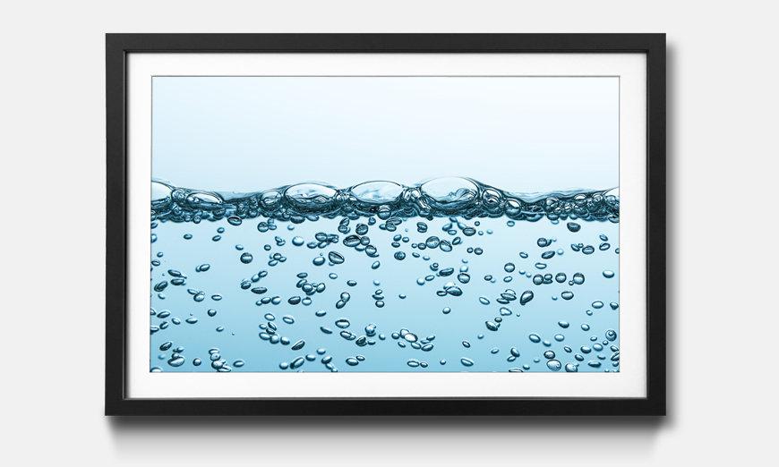 Das gerahmte Bild Sparkling Water