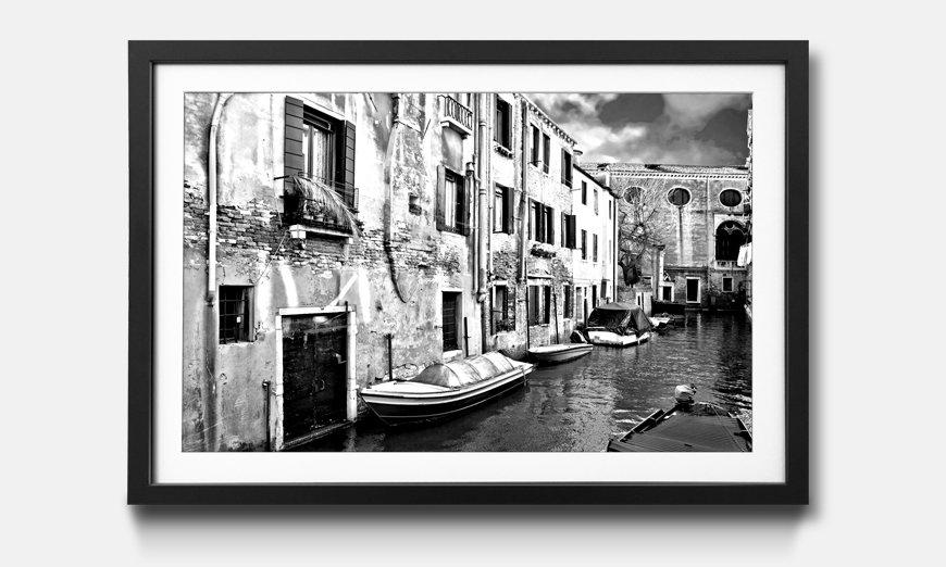 Das gerahmte Wandbild Beautiful Venice
