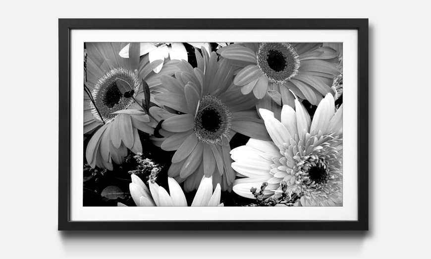 Das gerahmte Wandbild Flowery Scent