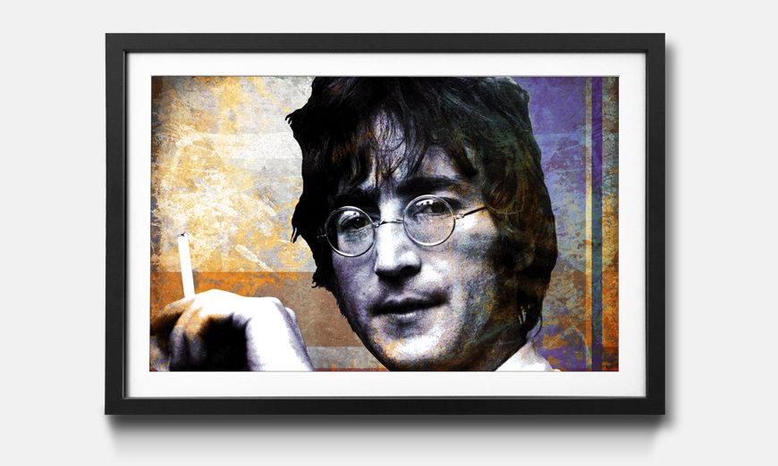 Das gerahmte Wandbild Lennon
