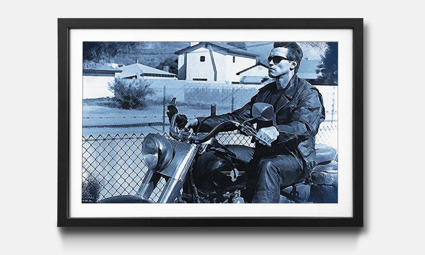 Das gerahmte Wandbild Terminator