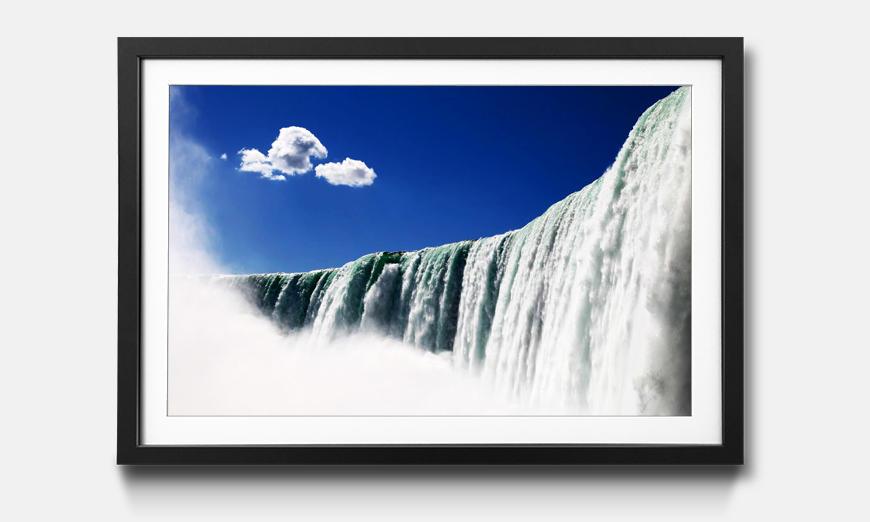 Der gerahmte Druck Niagara Falls