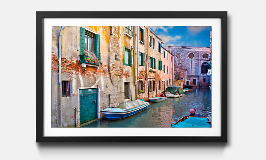 Der gerahmte Kunstdruck Beautiful Venice